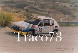 7° RALLY  TEMPLI  - 1992   /   Peugeot  205  Rally  Nr 95 - Automobiles