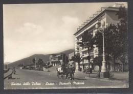 9213-LOANO(SAVONA)-PIAZZALE MAZZINI-CALESSE-ANIMATA-1956-FG - Savona