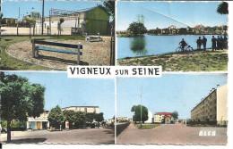 VIGNEUX SUR SEINE ... FOYER DANIEL FERY . LE LAC . LA PATTE D OIE . CITE MARION - Vigneux Sur Seine