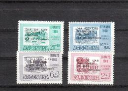 Argentine YT PA 78/81 * : Nations Unies - 1960 - Poste Aérienne