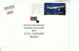 Nouvelle-Calédonie YT PA 311 Sur Lettre : Airbus A340 , Air France - 1994 - Luftpost