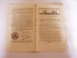 AN V : Vainqueurs De La Bastille En 1789; Prévention Maladies épizootiques; Célébration Fête De La Liberté - Décrets & Lois