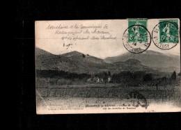 84 BEAUMES DE VENISE Vue Générale, Mont Ventoux, Ed Brun 5, 1914 *** Recensement Des Chevaux *** - Beaumes De Venise