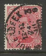 """BELGIQUE , BELGIE ; Perforé , Perfin ; """" DLC """" , 10 C , Albert 1er , 1915 , N° YT 138 - Perforés"""