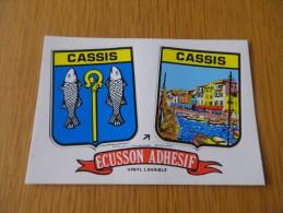 BOUCHES DU RHONE - CASSIS - AUTOCOLLANT - ECUSSON BLASON - Cassis
