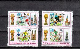 Sénégal YT 401/4 ** : Allemagne - 1974 - Coppa Del Mondo