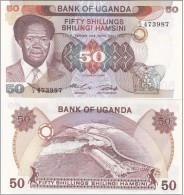 Uganda - 50 Shillings 1985 UNC Ukr-OP - Uganda