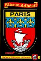 CARTE POSTALE BLASON ADHESIF , PARIS , Villes Et Provinces De France - Autres