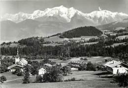 Haute Savoie -gd Format Div- Ref - N727 - Cordon - Le Chef Lieu Et Le Mont Blanc - Carte Bon Etat - - Andere Gemeenten
