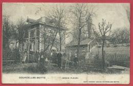 Courcelles-Motte - Jardin Fleuri - 1907  ( Voir Verso ) - Courcelles