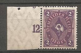 Randstyck: Mi 171 MNH / **     (ty298) - Allemagne