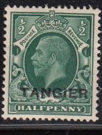 MOROCCO AGENCIES TANGIER 1934 GV SG234 Harrison 1/2p Light Mounted Mint - Altri
