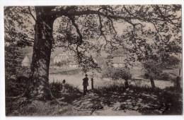 (Velbert) Ein Idyllischer Ausblick Auf Schloss Hardenberg, Berlag Adolf Steiner - Velbert