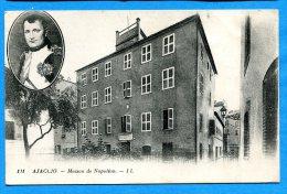 FR092, Ajaccio, Maison De Napoléon, 111, Circulée 1937 - Ajaccio