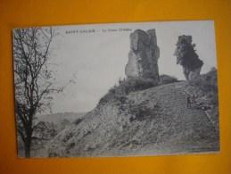 Cpa  SAINT CALAIS  -  72  -  Le Vieux  Château  -  Sarthe - Saint Calais