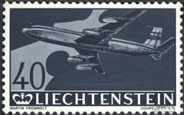 Liechtenstein 392 Postfrisch 1960 Flugpostmarken - Liechtenstein