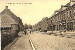 RUMILLIES (Tournai) - Chauss�e de Frasnes (Sud) - Animation - tr�s belle sc�ne de rue - TOP