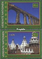 UNO - Wien 317-318 (kompl.Ausg.) Postfrisch 2000 Kultur- Und Naturerbe - Wien - Internationales Zentrum
