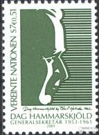 UNO - Wien 341 (kompl.Ausg.) Postfrisch 2001 Dag Hammarskjöld - Wien - Internationales Zentrum