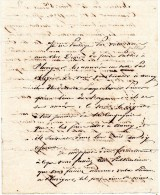 Lettre Authentique - Document Daté De 1836 Ou 1856 -  Lettre Ou Il Est Question D'une Publication à PLUVIGNER ? - Vieux Papiers
