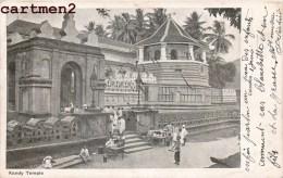 COLOMBO KANDY TEMPLE CEYLON INDIA INDE CEYLAN ISLAND - Sri Lanka (Ceylon)