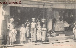 NATIVE BOUTIQUE COLOMBO SHOP COMMERCE SRI LANKA CEYLON INDIA INDE - Sri Lanka (Ceylon)