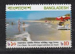 BANGLADESH, 2008, Cox´s Bazar, Woprld´s Longest Unbroken Sea Beach, MNH, (**) - Bangladesh