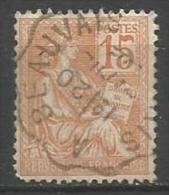 France - Mouchon N°117 Obl. Ambulant - Convoyeur Paris à Beauvais - 1900-02 Mouchon