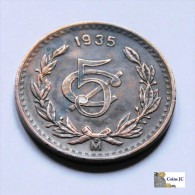 Mëxico - 5 Centavos - 1935 - Mexiko