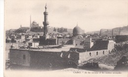 EGYPTE -   CAIRO - At The Environs Of The Moslem Necropolis - Unclassified