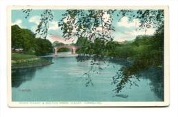 RIVER WHARF & BOLTON WOOD, ILKLEY, YORKSHIRE - England
