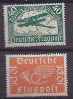 Germany1919: Michel111-12 Mnh** AIR MAIL - Unused Stamps