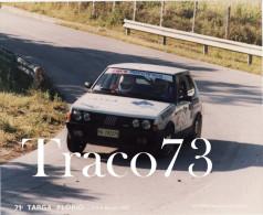 71^ TARGA FLORIO RALLY DI SICILIA 1987 /  Fiat Ritmo 130 Abarth - Automobili