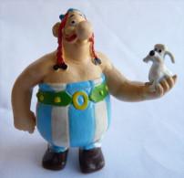 TRES RARE FIGURINE ASTERIX M+B Maya Et Borgese OBELIX TTBE 1985 - Asterix & Obelix