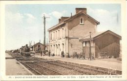 44  SAINT  ETIENNE DE MONT  LUC   LA  GARE  LIGNE DE ST NAZAIRE  ET  DE  BRETAGNE - Saint Etienne De Montluc