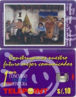 Telefonkarte Peru - Gemälde , Painting - Peru