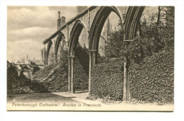 Peterborough Cathedral: Arches In Precincts - England