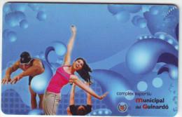 """Staff Card, Sports Center - Carte License, Centre Sportif  """"COMPLEX ESPORTIU MUNICIPAL GUINARDO - AJUNTAMENT BARCELONA"""" - Sports"""