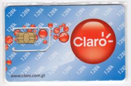 GUATEMALA CARTE GSM CLARO VERSO NUMEROTEE - Guatemala