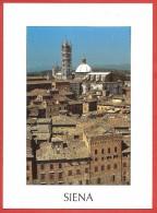 CARTOLINA VG ITALIA - SIENA - Panorama - 10 X 15 - ANNULLO 2004 - Siena