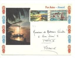 30 Et39 Sur Lettre   (clasble) - Polynésie Française