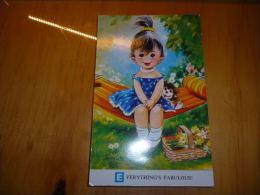 BP1-2-36 Carte Fantaisie A Taylot Tot Jeune Fille Chien Hamac - Taylor
