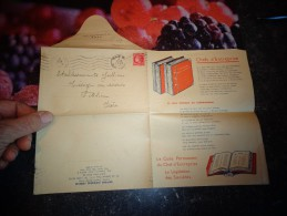 Dépliant Lettre Publicitaire 1946 : Editions Juridiques Lefèbvre / Bon De Commande - Cinderellas