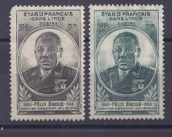 Inde - N° 234 Et 235  Neufs * - India (1892-1954)