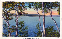 MAHONE BAY N.S., Glory Of Morning, Karte Gel.1938 - Ohne Zuordnung