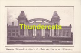 CPA EXPOSITION UNIVERSELLE DE GAND GENT TENTOONSTELLING 1913 **  LE PALAIS DES FETES ET DE L'HORTICULTURE - Expositions