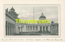CPA EXPOSITION UNIVERSELLE DE GAND GENT TENTOONSTELLING 1913 ** LA SECTION ANGLAISE ET LE PALAIS DES BEAUX ARTS - Expositions