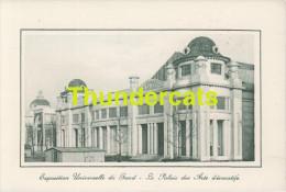 CPA EXPOSITION UNIVERSELLE DE GAND GENT TENTOONSTELLING 1913 ** LE PALAIS DES ARTS DECORATIFS - Expositions