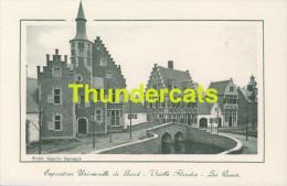 CPA EXPOSITION UNIVERSELLE DE GAND GENT TENTOONSTELLING 1913 ** VIEILLE FLANDRE LES QUAIS - Expositions