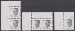N° 2352 XX - 3 Verschillende Met Datum - Zie Scan - 1981-1990 Velghe